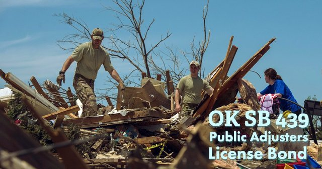 License Bond Increases for Oklahoma Public Adjusters