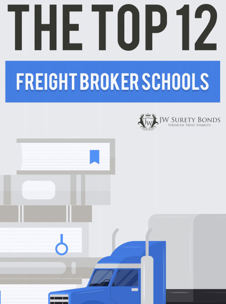 Top 12 Freight Broker Training Schools - JW Surety Bonds Blog