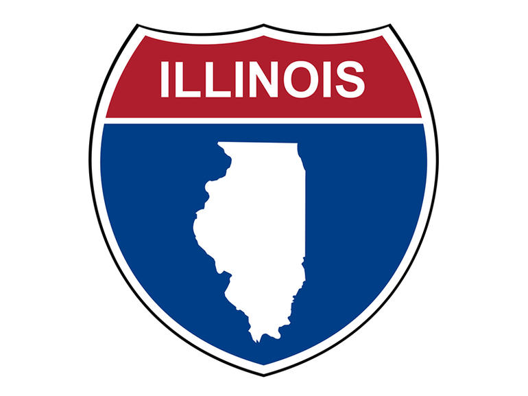 Illinois interstate highway shield