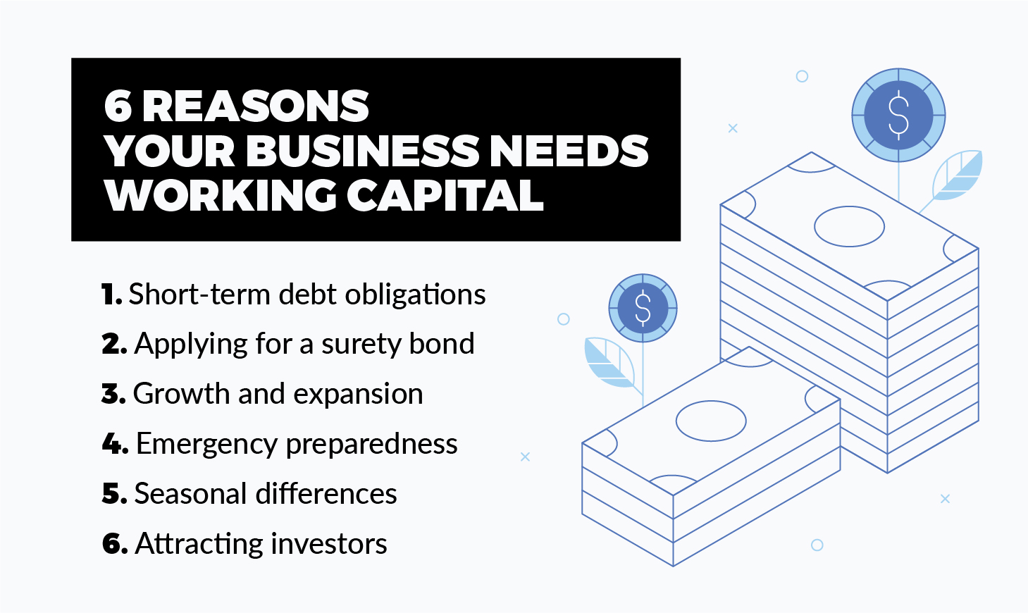 Reasons your business needs more working capital