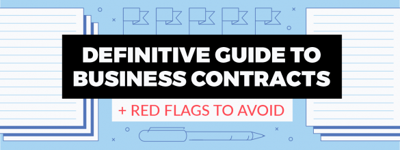 business contracts and red flags to avoid