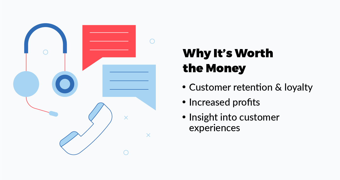 why you should spend money on customer service