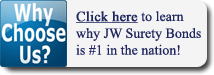 Why Choose JW Surety Bonds?